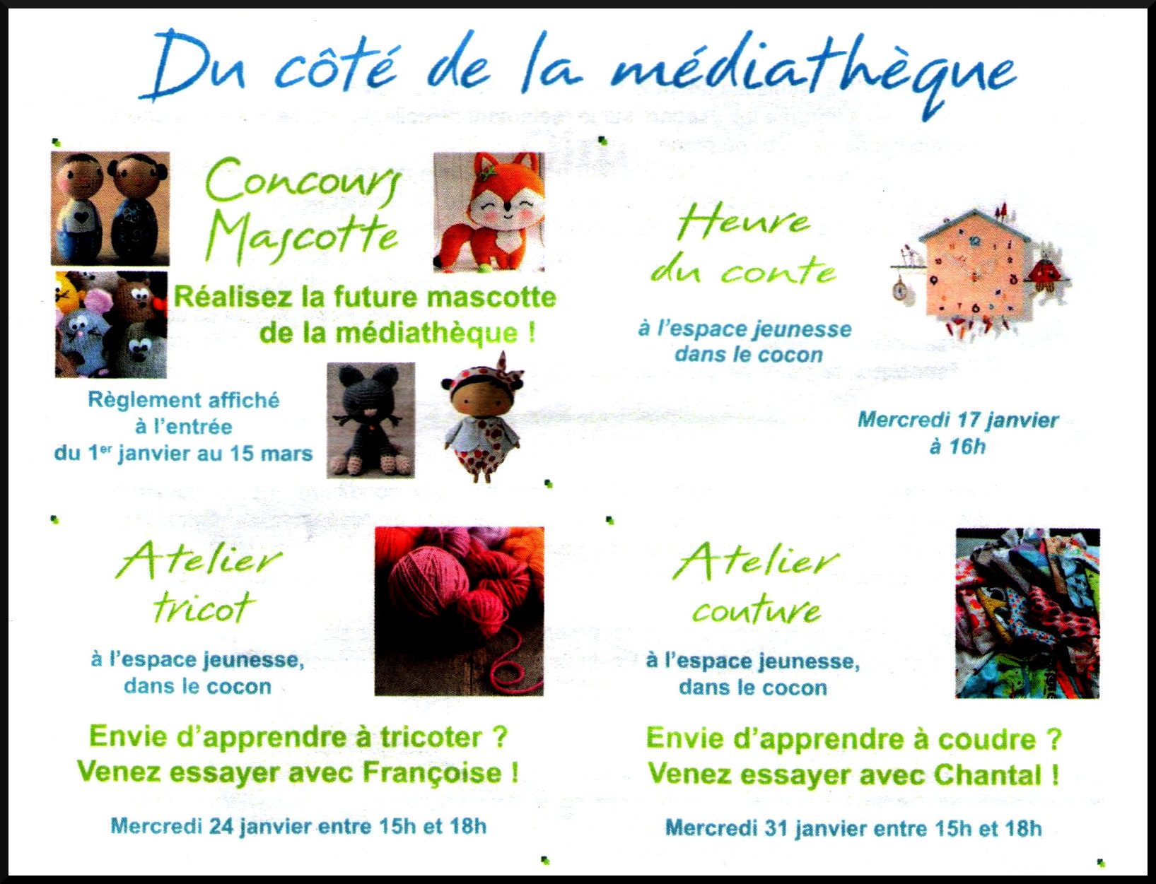 indigence mediatheque