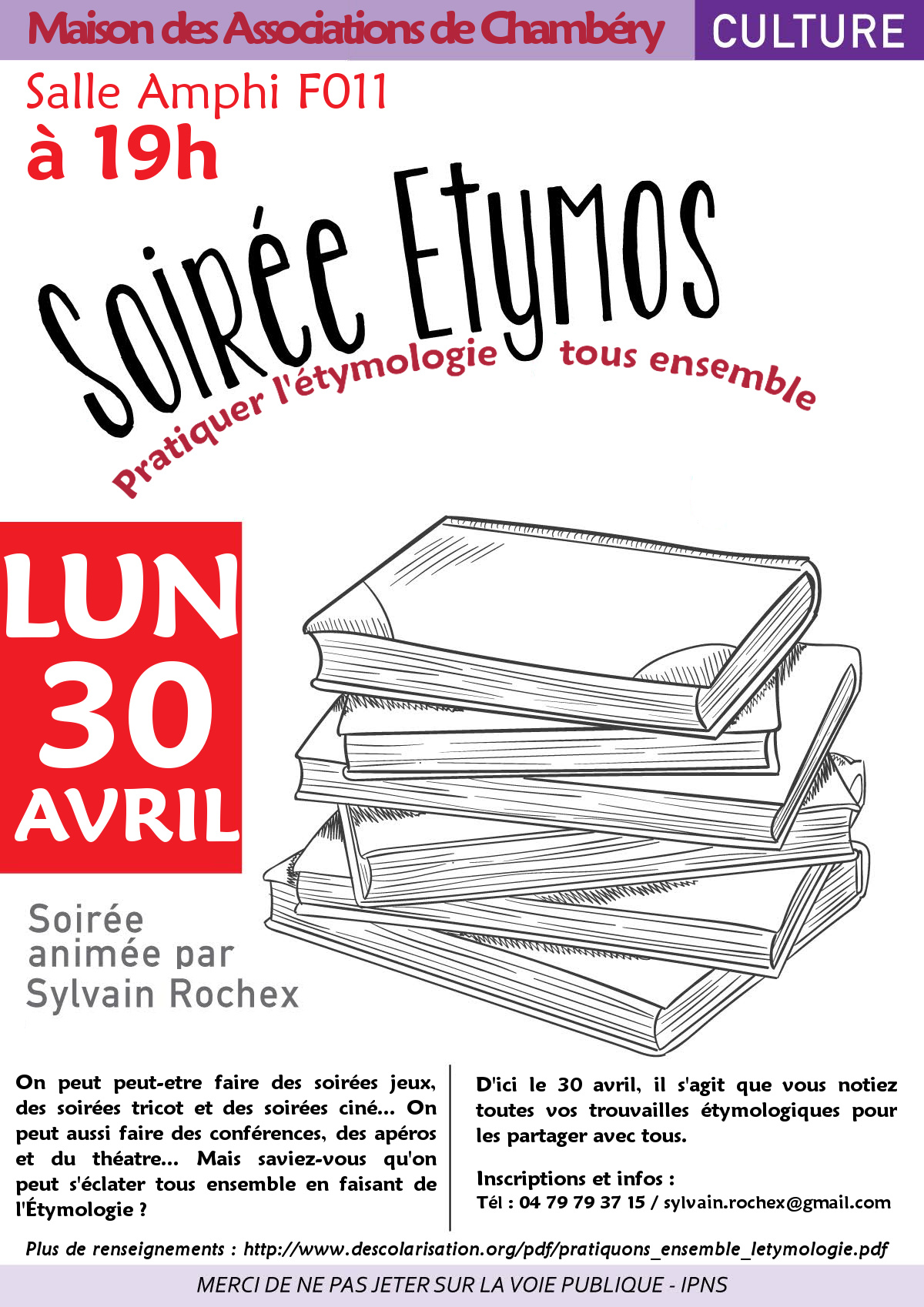 soiree etymos avril 2018